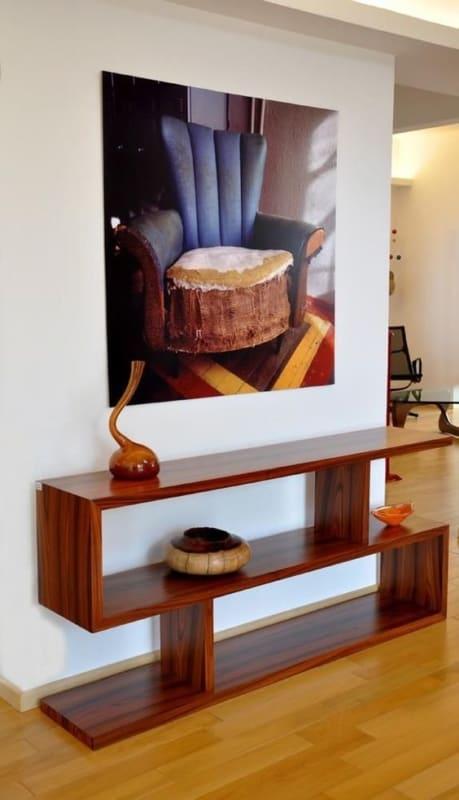 Modelos de aparador de madeira moderno