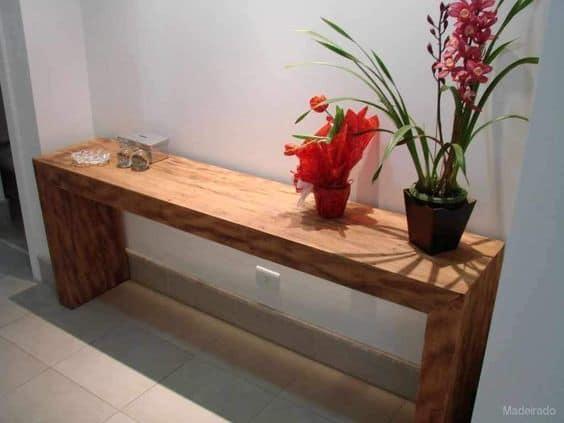 Modelos de aparador de madeira rústica