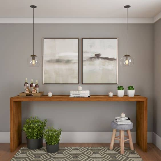 Modelos de aparador de madeira versátil que agrega elegancia ao ambiente