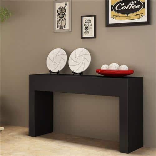 Modelos de aparador preto para sala de jantar