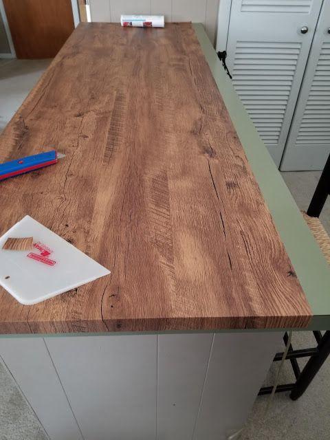 Papel contact de madeira para bancada