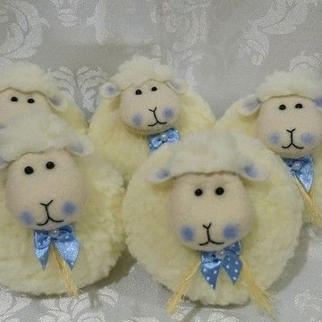 Sachê perfumado modelo ovelhinha