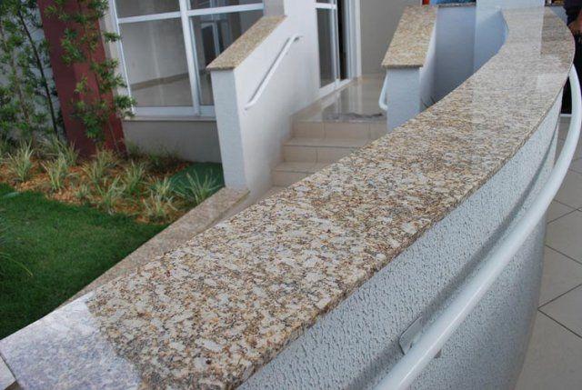 Soleiras de granito nos beirais