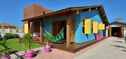 casas baratas coloridas