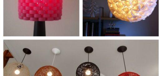 como fazer Luminária Artesanal