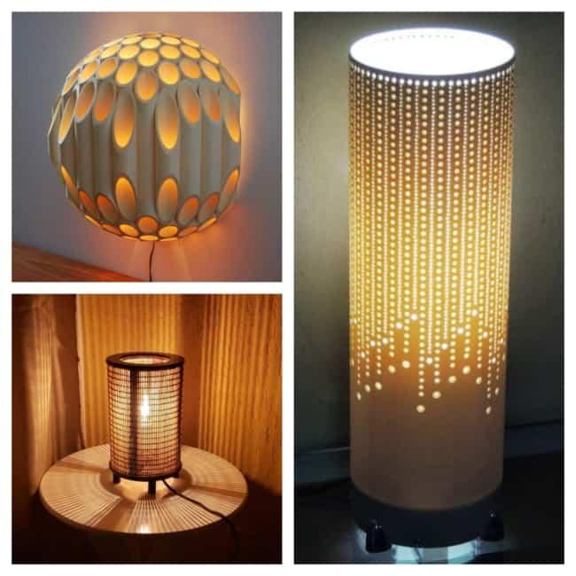 como fazer Luminária artesanal 1