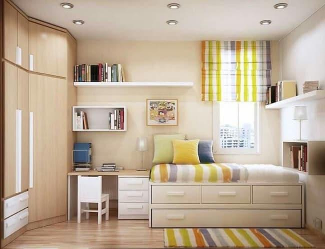 cor nude na decor do quarto