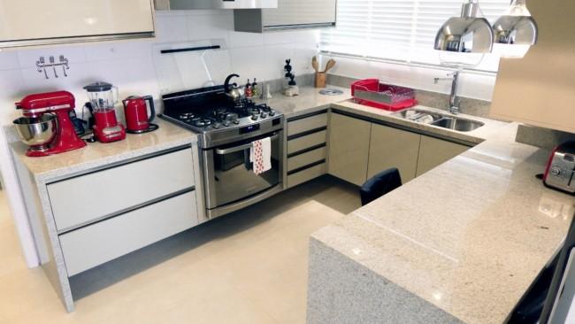 cozinha moderna com granito