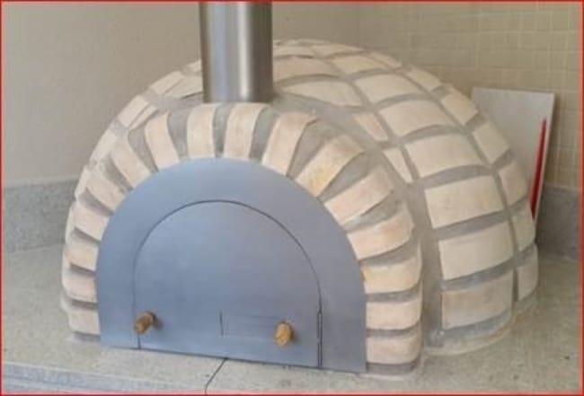 forno de tijolo refratário como é