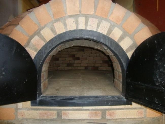 forno de tijolo refratário