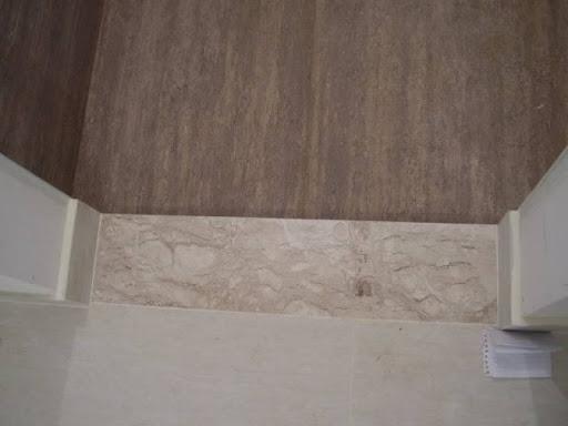 ideia de soleira marrom de marmore