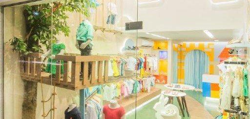 nome de loja infantil diferente reinoceronte