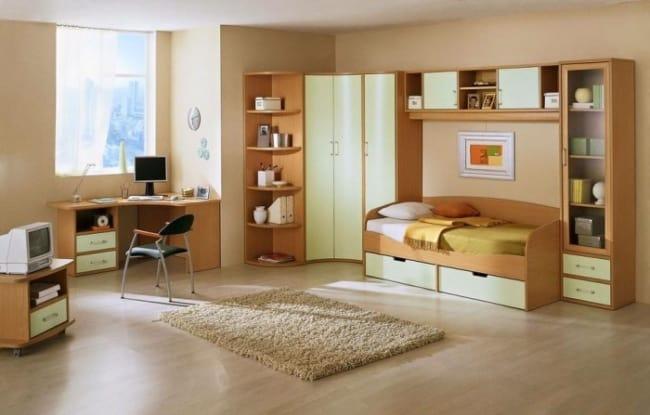 quarto infantil com cor nude