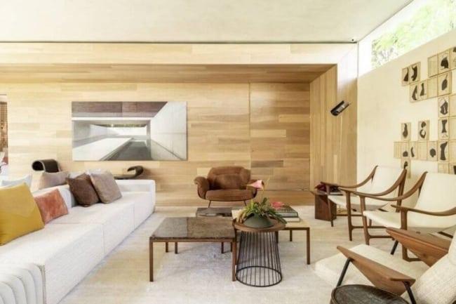 sala grande com cor nude