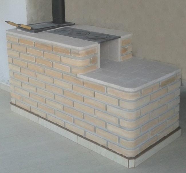 tijolo refratário em fogões a lenha