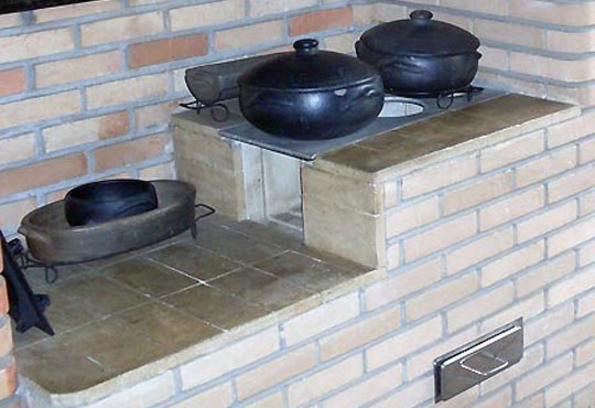 tijolo refratário para fogão a lenha