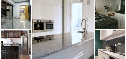 cores de granito para cozinha
