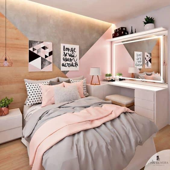 composição de quadros tumblr na decoração