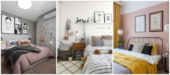 decoração com quadros tumblr em preto e branco