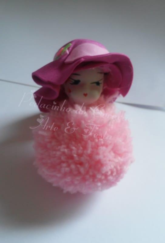 boneca de lã