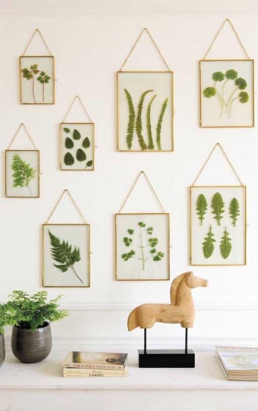 decoração com quadros artesanais Tumblr