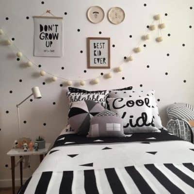 quadros preto e branco com frases para quarto tumblr