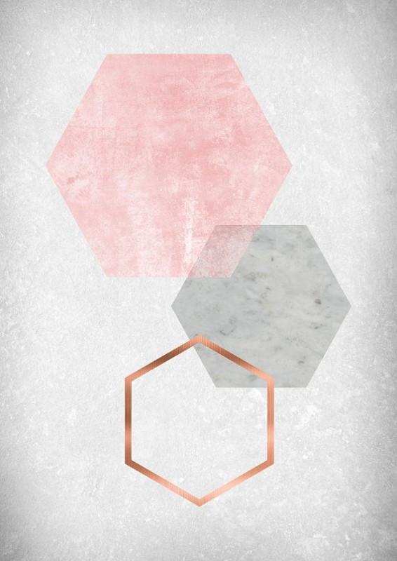 poster geométrico para imprimir grátis