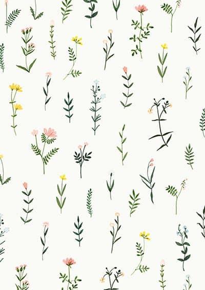quadro tumblr com flores para imprimir