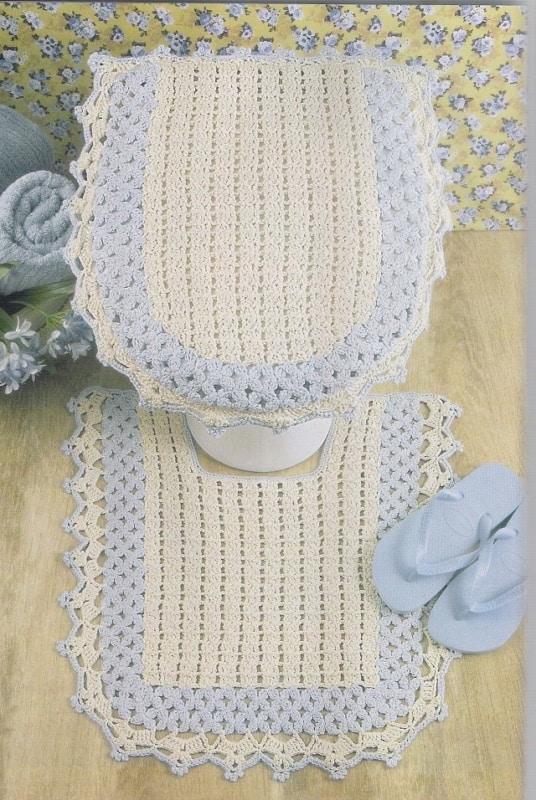 tapete de vaso simples para banheiro