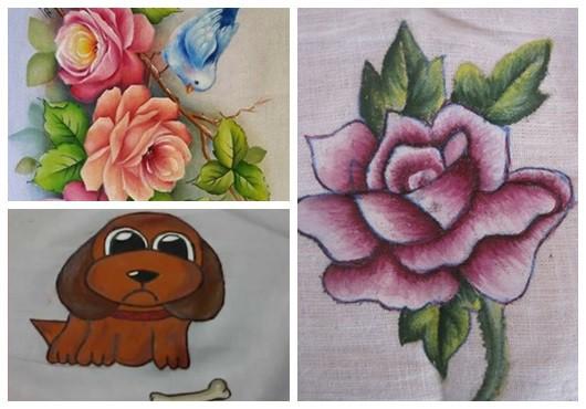 Ideias para pintura em tecido2