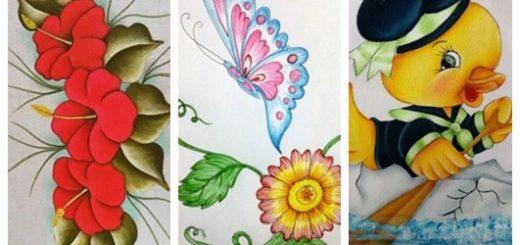 Ideias para pintura em tecido3