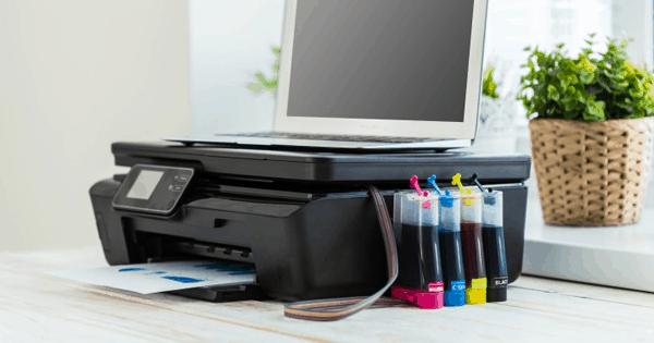 Impressora com cartucho toner