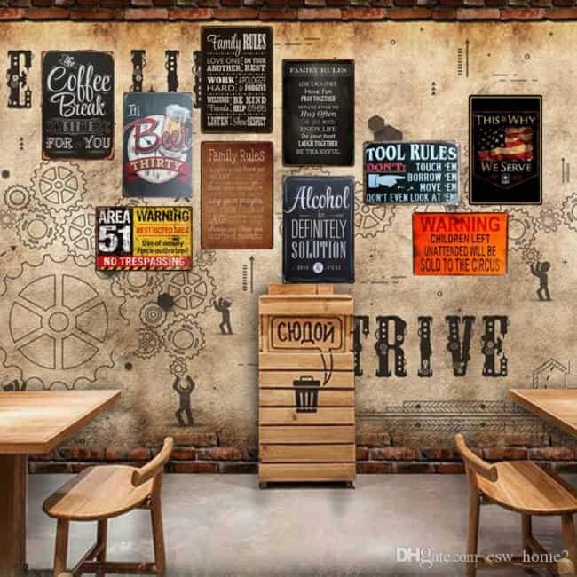 Mesas e cadeiras para restaurante com estilo diferente