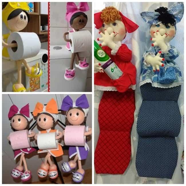 Modelos de boneca porta papel higiênico31
