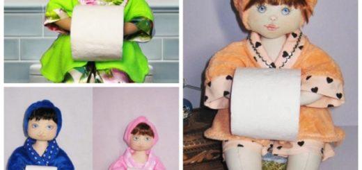 Modelos de boneca porta papel higiênico33