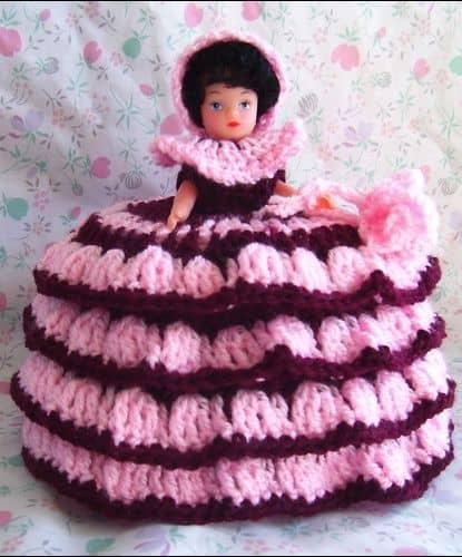 Porta papel higiênico com Barbie21