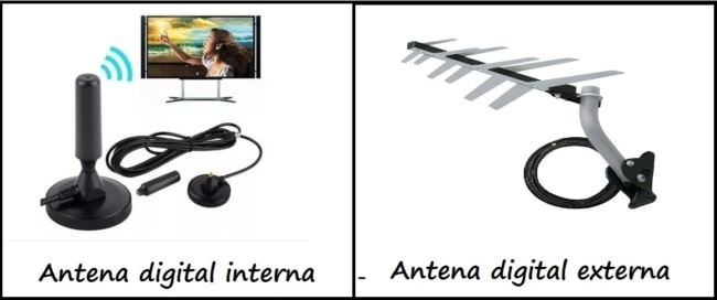 antena digital interna ou externa