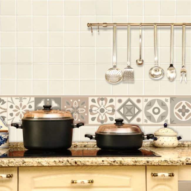 faixa para cozinha papel de parede