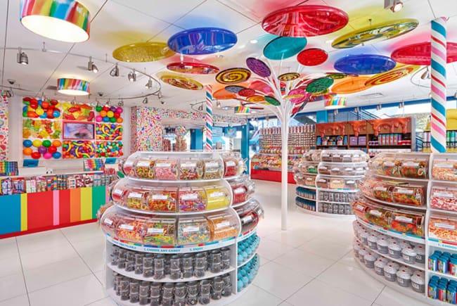 lojas de doces