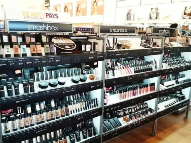lojas de maquiagem