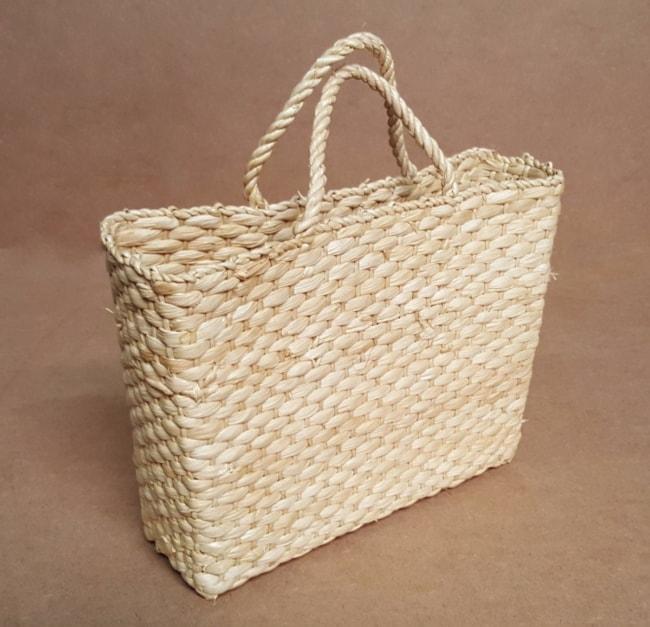 Bolsa de palha de milho artesanal