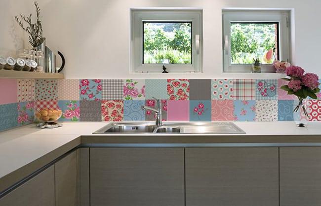 faixa para cozinha com ceramica burguesa