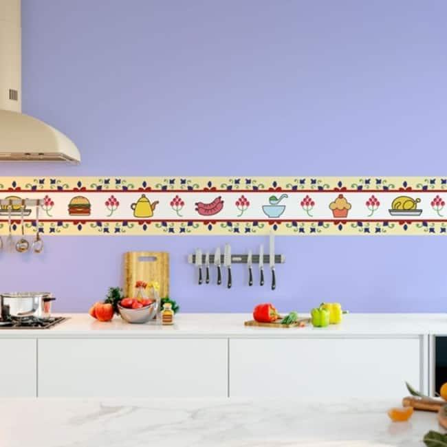 faixa para cozinha decorativa