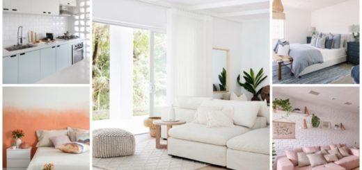 decoração com cor branca