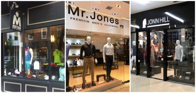 nomes para lojas de roupas masculinas