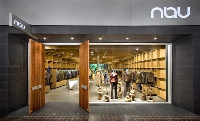 nome e fachada para loja de roupas unissex