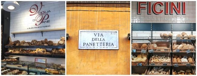 nomes italianos para padaria