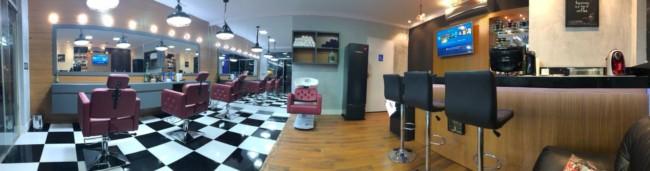 Barbearia moderna com br integrado