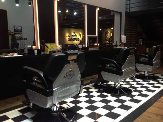 Barbearia moderna tem virada uma febre