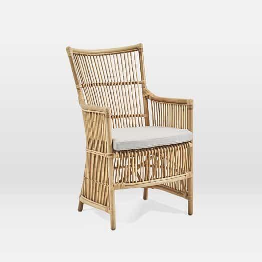 Cadeira de rattan com almofada8